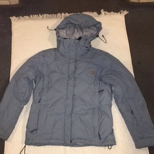 The North Face Goose Down Blue 600 Jacket Coat XS